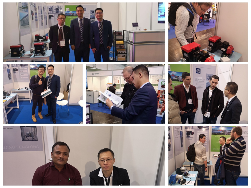 Fenglong Familiy and Visitors in IPM ESSEN