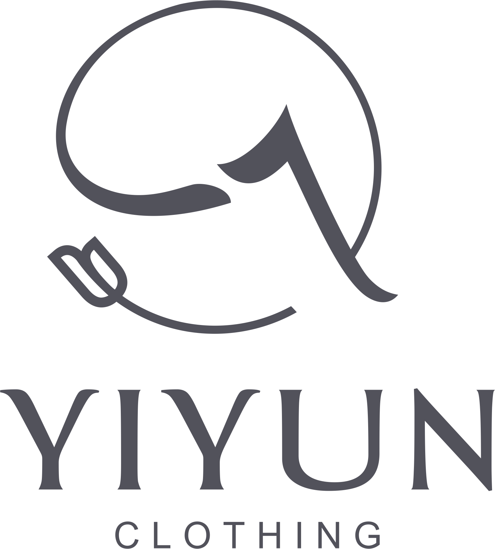YIYUN CLOTHING(LOGO透明格式