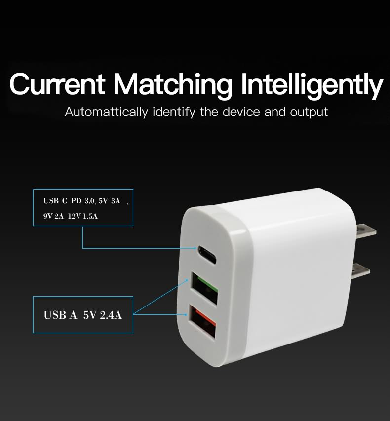 USB C PD 3.0&USB Wall Charger4