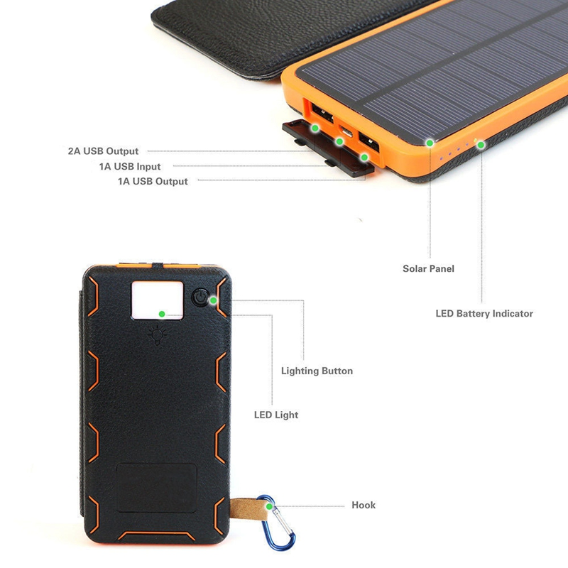 Solar power bank 3