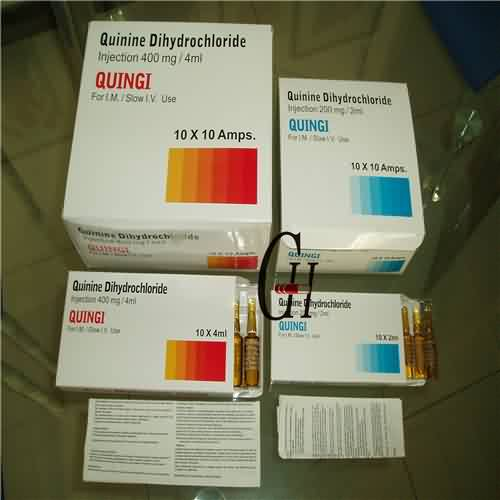 Quinine Dihydrochloride Injection BP 200mg/2ml