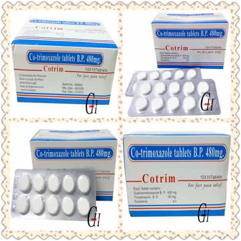 Antifungal Co Trimoxazole Tablets