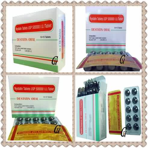 Antifungal Nystatin Tablets