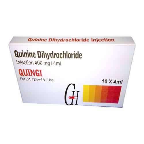 Quinine Dihydrochloride Injection BP 400mg/4ml