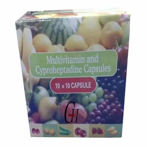 Multivitamin and Cyproheptadine Capsules