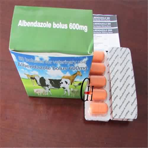 Albendazole Bolus 600 Mg Veterinary