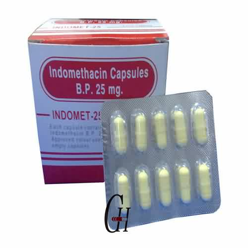 Indomethacin Capsules BP 25mg