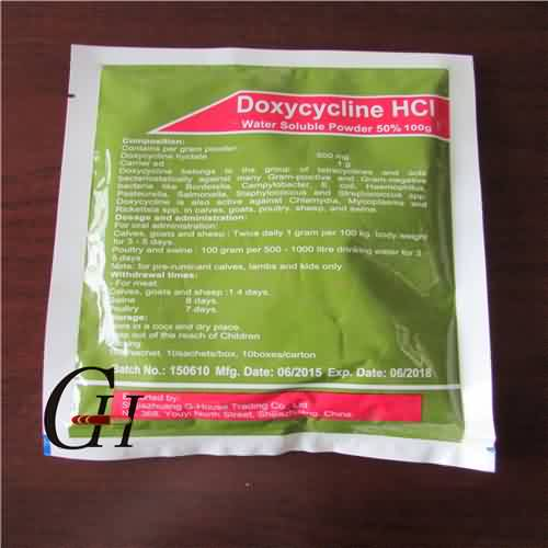 Doxycycline HCL Water Soluble Powder 50%