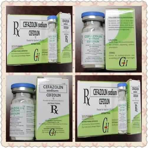 Antibiotics cefazolin Sodium Powder Para Injection