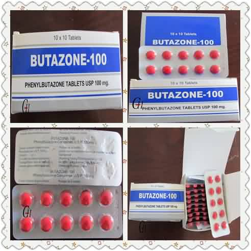Antipyretic Analgesic Phenylbutazone Tablets