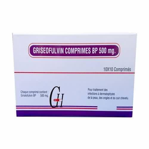 Griseofulvin Tablet BP