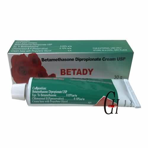 Betametazon dipropionat Cream USP 30g