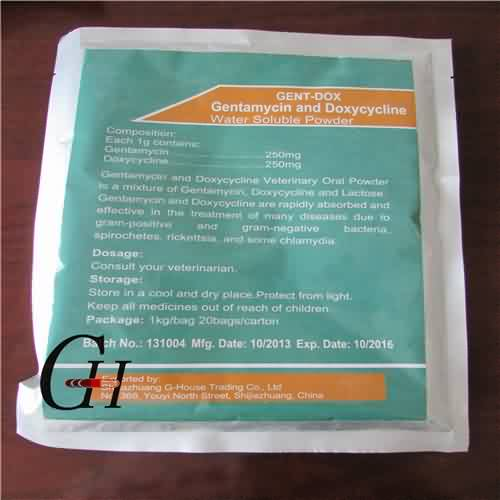 Gentamycin and Doxycycline Water Soluble Powder