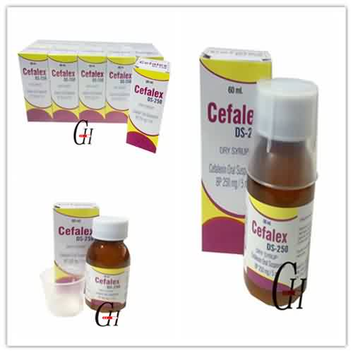 Cefalexin Dry Syrup BP 250mg/5ml
