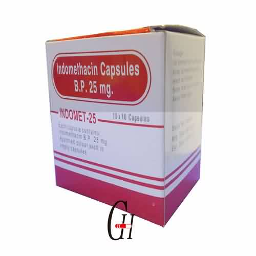 Indomethacin Capsule BP 25mg
