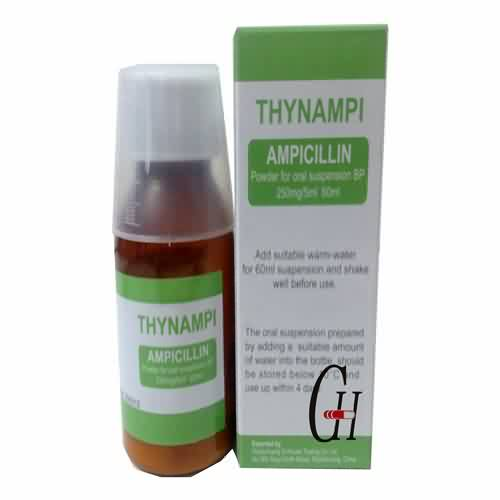 Ampicillin Powder Oral Suspension