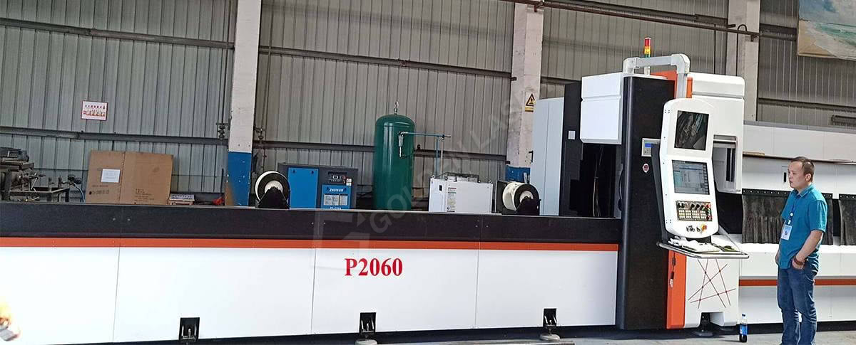 laser pipe cutting machine p2060
