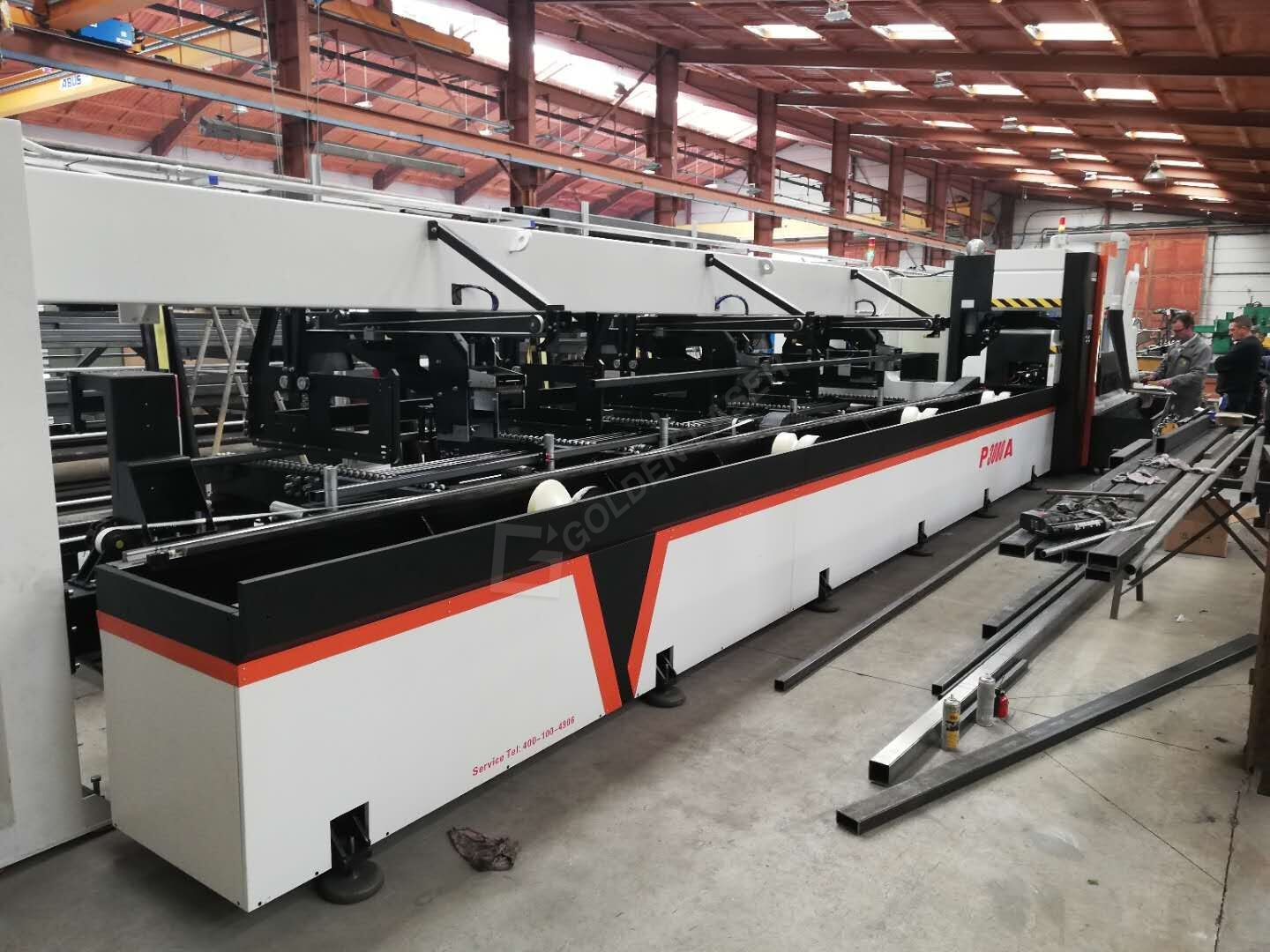 3000w metal tube laser cutting machine