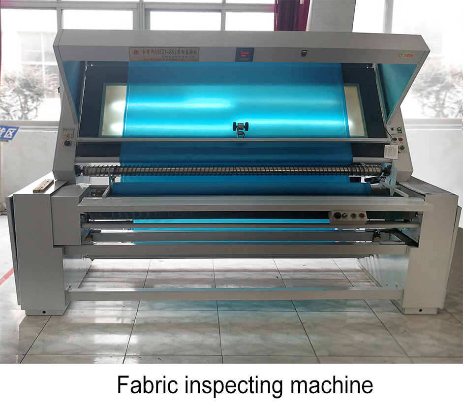 fabric inspecting machine