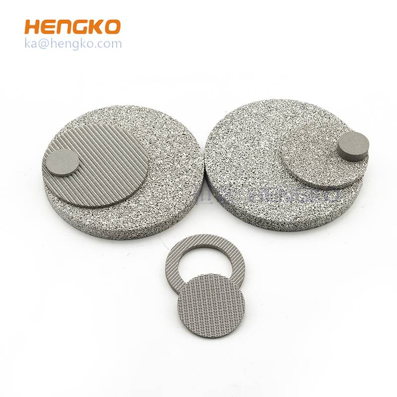 stainless steel filter disc made by HENGKO
