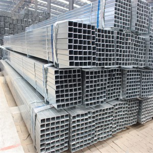Hot-dipped-Galvanized-Steel-Pipe-Square-Tube