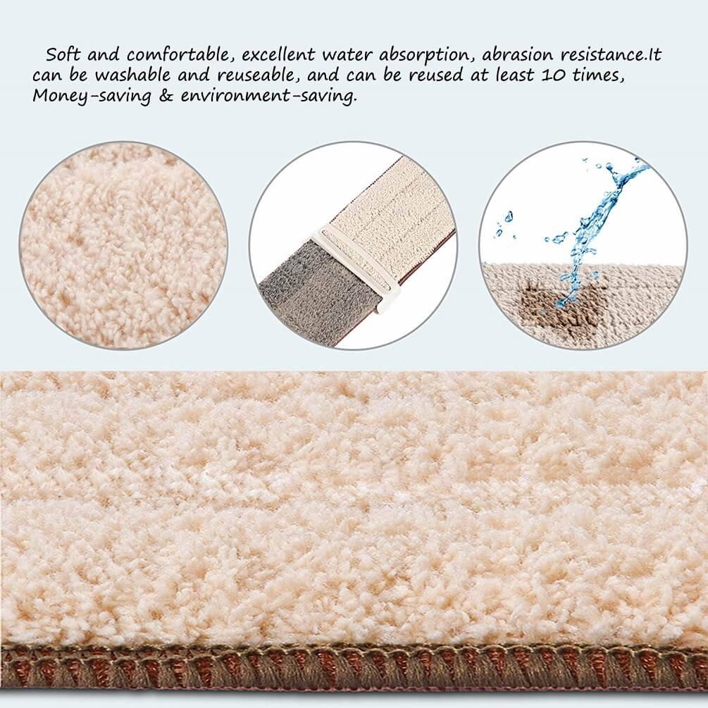 Self Wringing Microfiber Spray Mop Kit  (3)