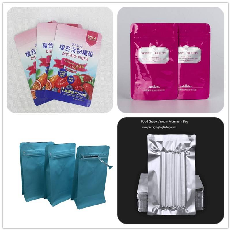 food grade aluminium bag