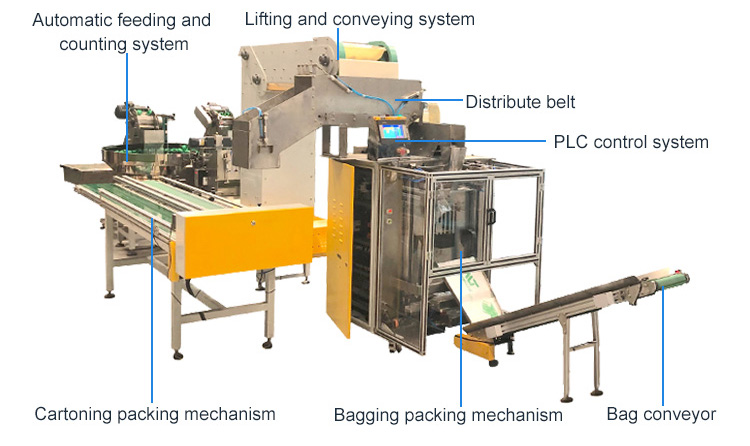 bagging cartoning packing machine