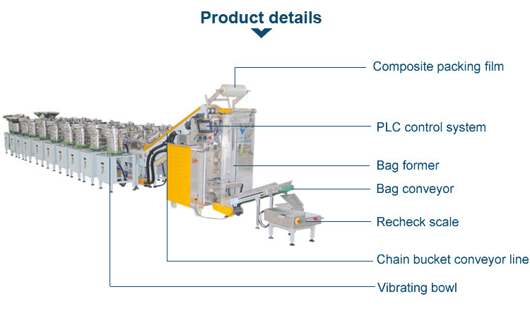 mixed packing machine for toy