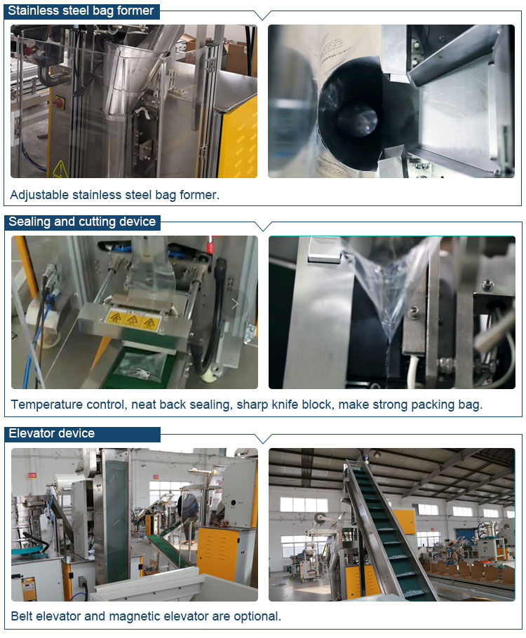 bolt screw packing machine