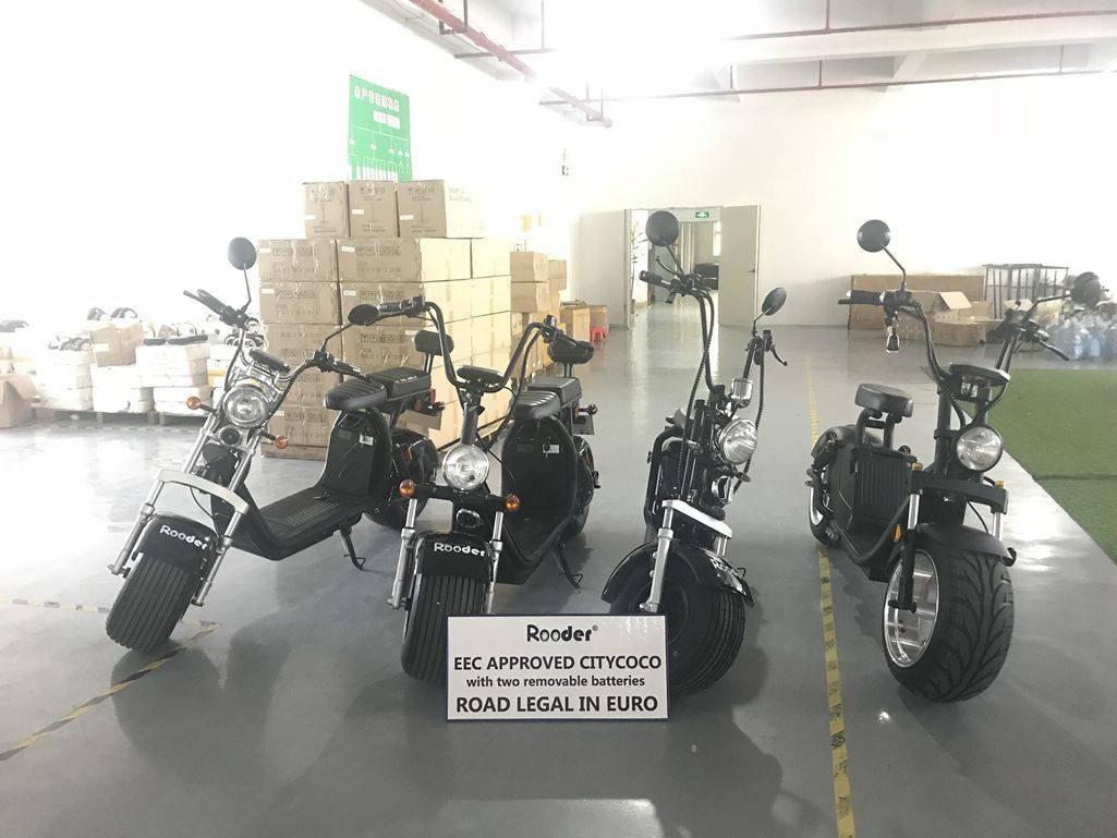 R804i EEC approval 1500W Citycoco electric scooter from China