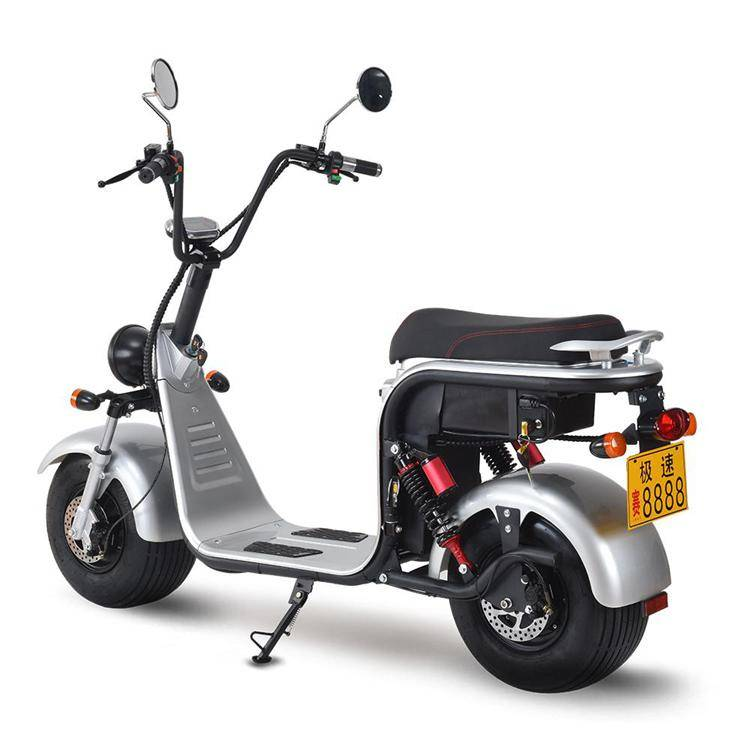 harley electric scooter with big wheel fat tire (5)