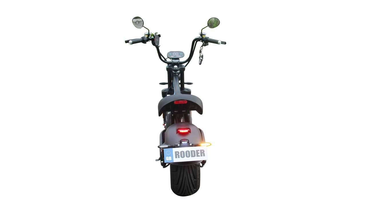 Rooder Runner citycoco harley electric scooter r804-m8 2000w 30ah EEC COC wholesale price (7)