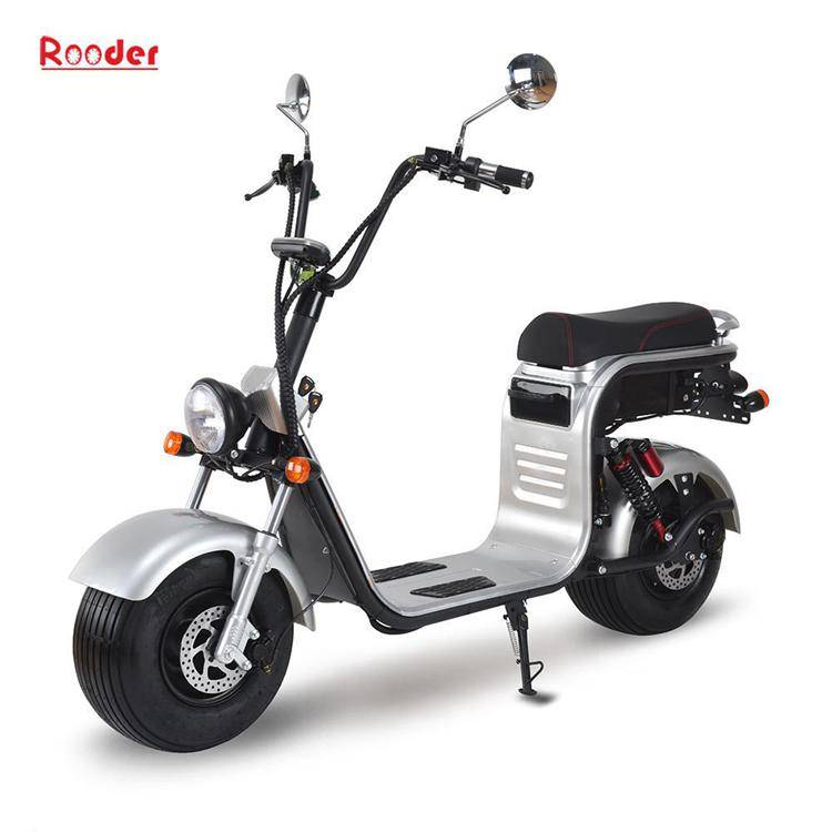 harley electric scooter with big wheel fat tire (1)