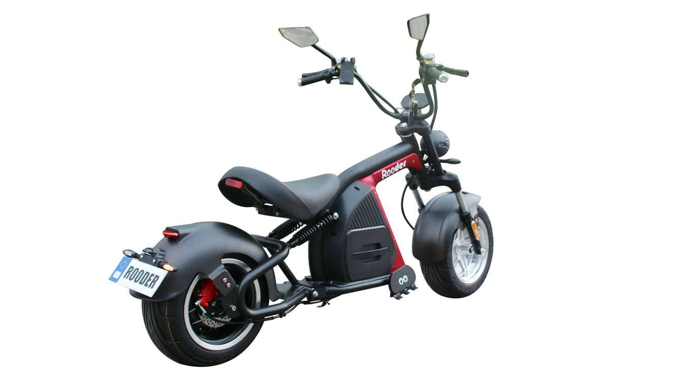 Rooder Runner citycoco harley electric scooter r804-m8 2000w 30ah EEC COC wholesale price (4)