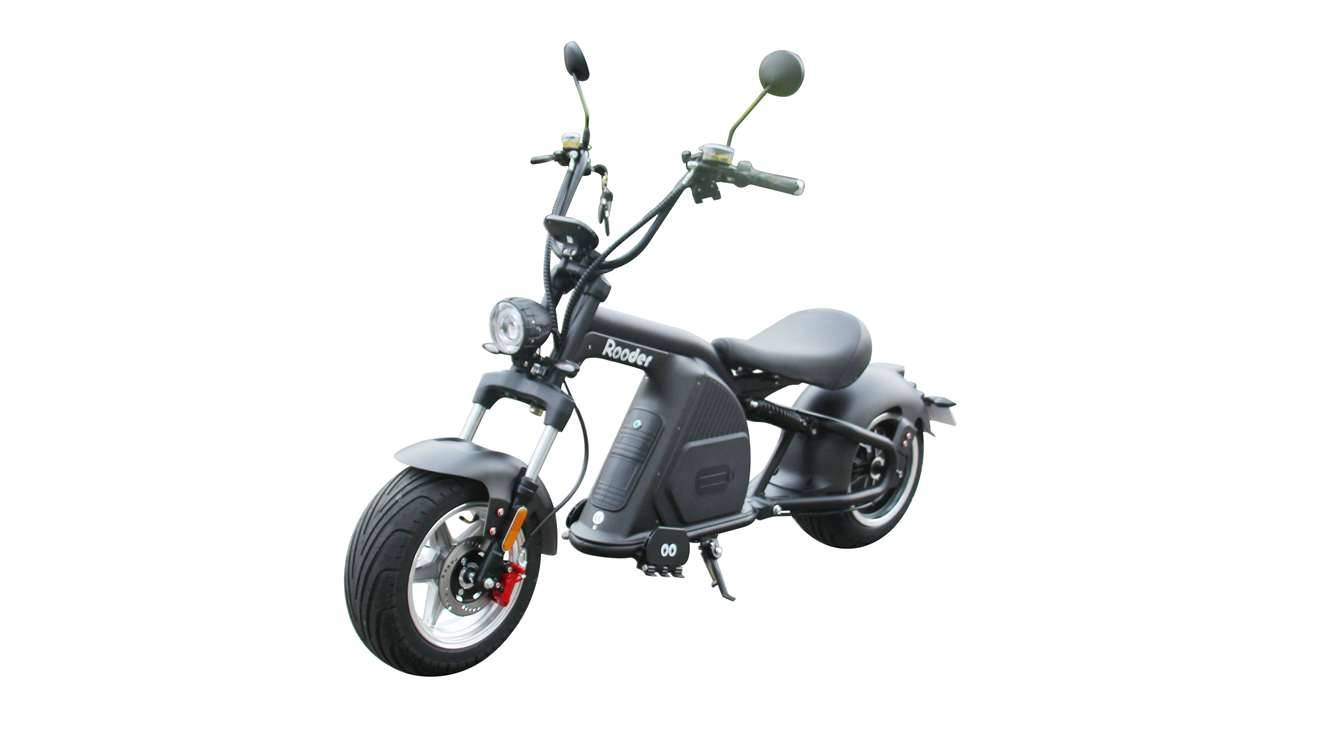 Rooder Runner citycoco harley electric scooter r804-m8 2000w 30ah EEC COC wholesale price (1)