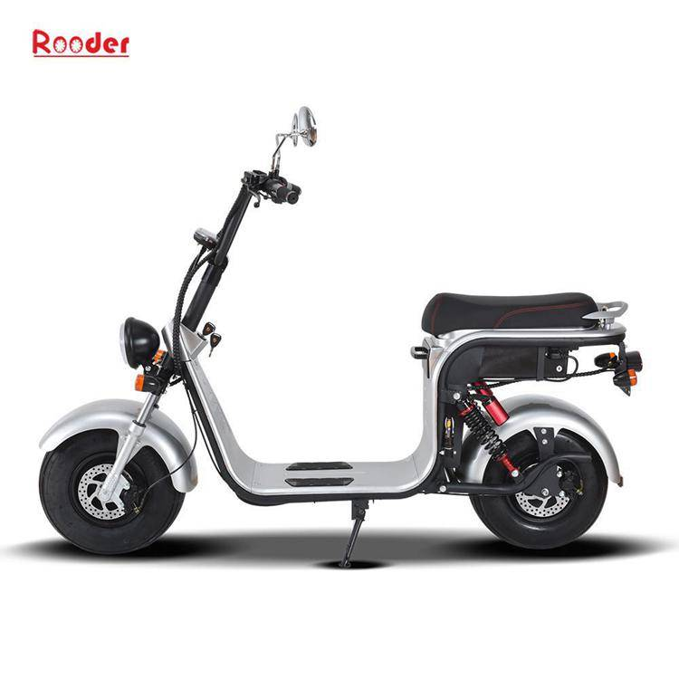 harley electric scooter with big wheel fat tire (4)