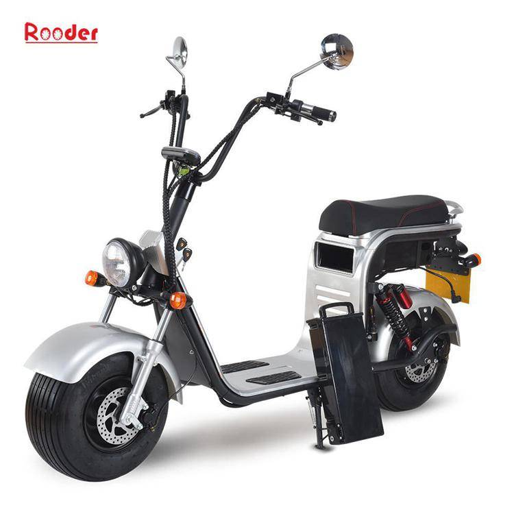 harley electric scooter with big wheel fat tire (3)