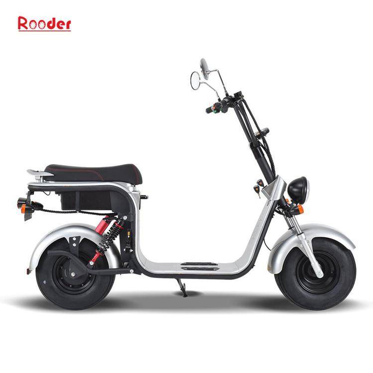 harley electric scooter with big wheel fat tire (2)