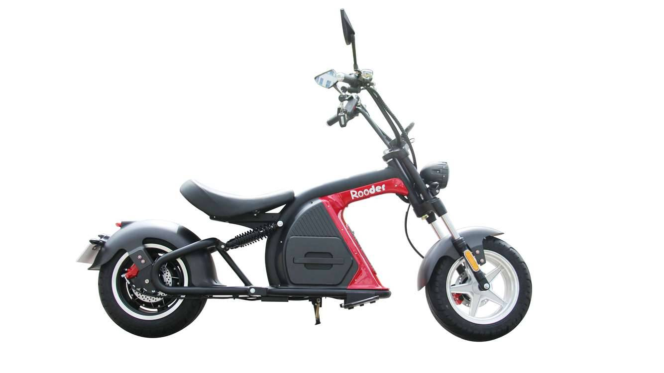 Rooder Runner citycoco harley electric scooter r804-m8 2000w 30ah EEC COC wholesale price (3)