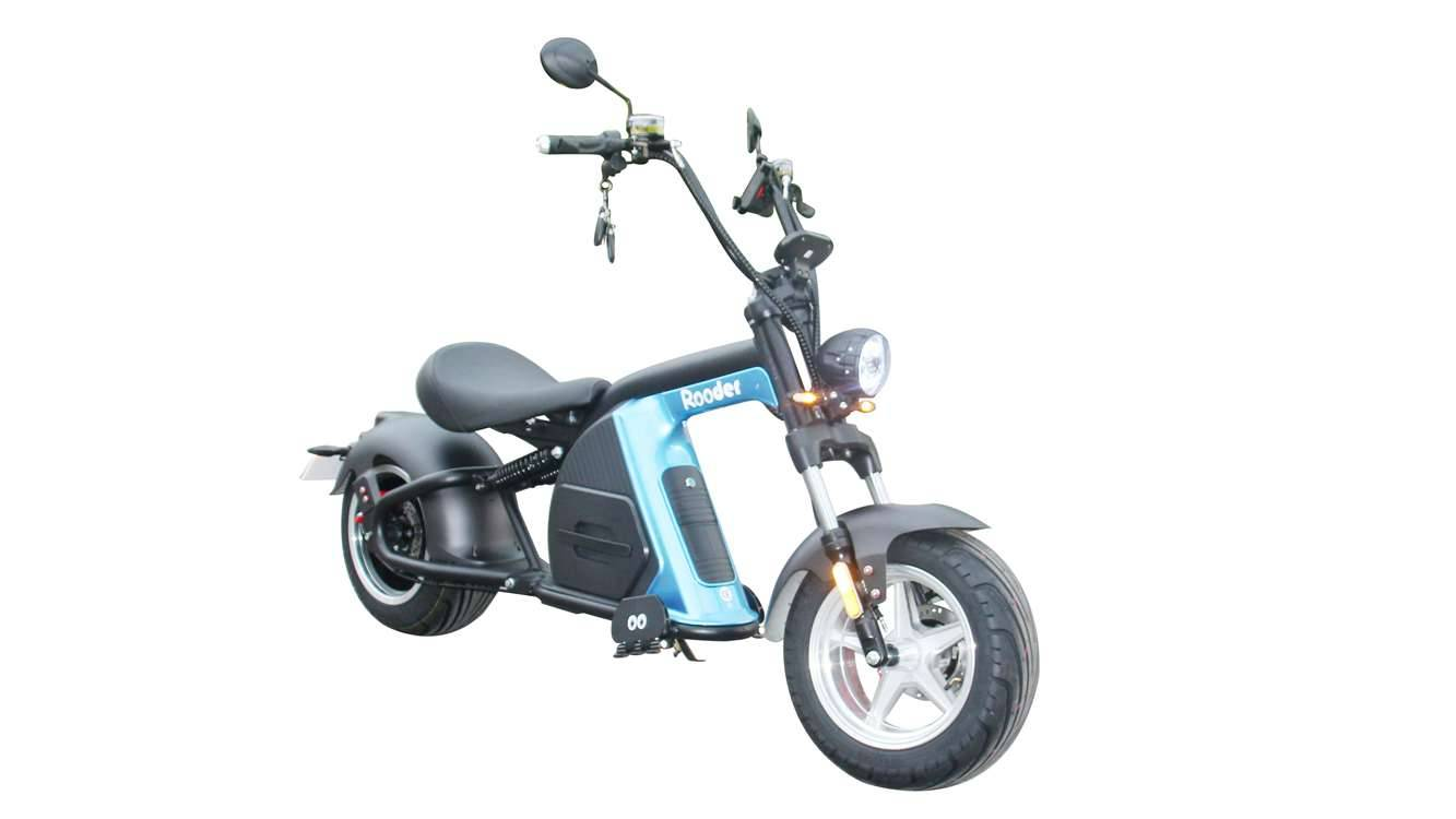 Rooder Runner citycoco harley electric scooter r804-m8 2000w 30ah EEC COC wholesale price (8)