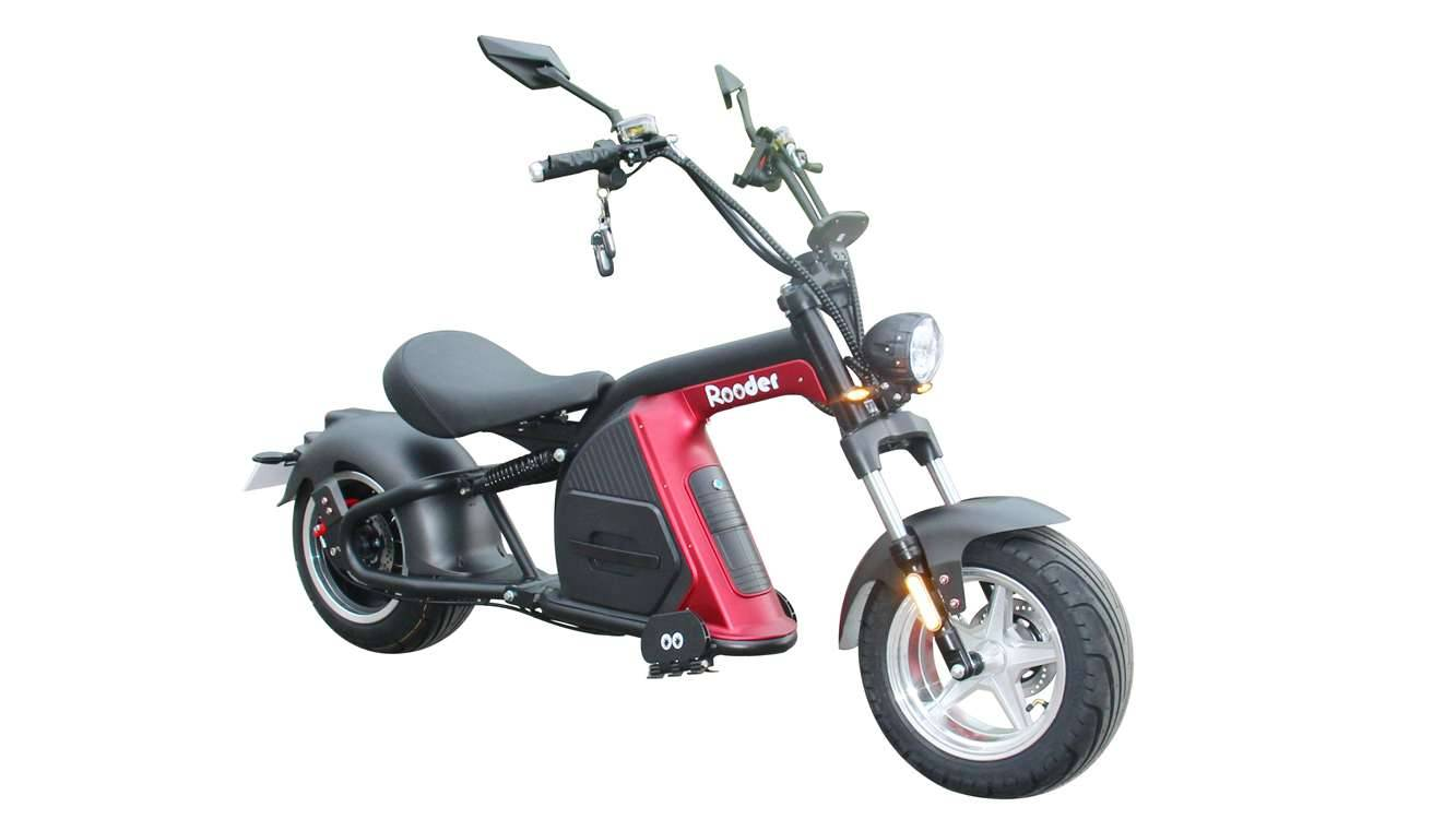 Rooder Runner citycoco harley electric scooter r804-m8 2000w 30ah EEC COC wholesale price (6)