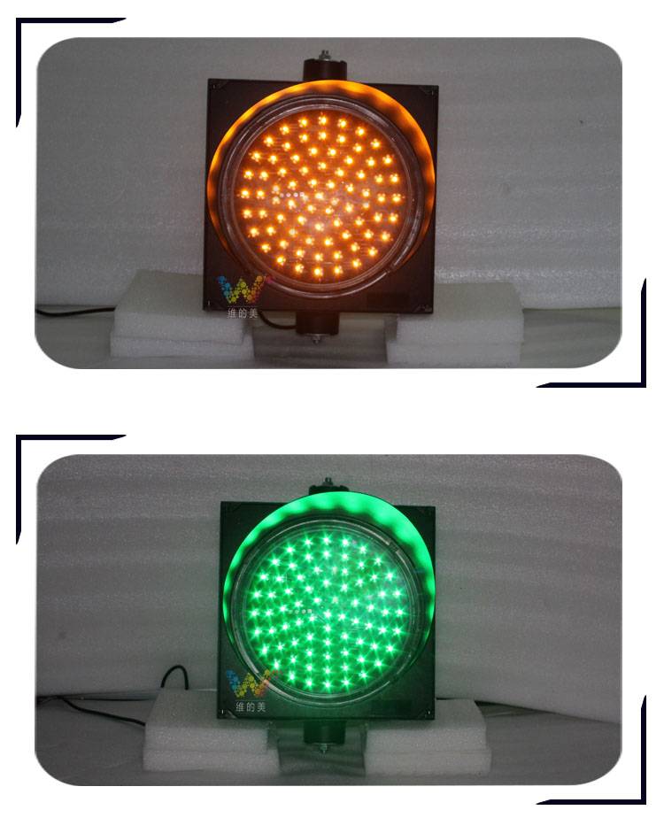 300mm housing LED traffic light  det6