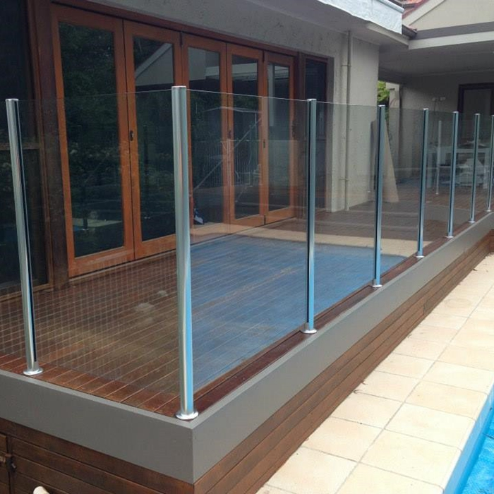 laminated glass railings